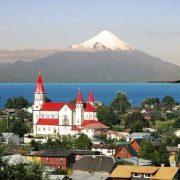 Puerto Varas, lac LLanquihue, volcan Osorno