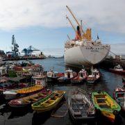 quai Prat , port de Valparaiso