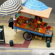 Arica, vendeur ambulant