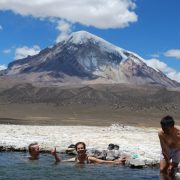 Parc national Sajama, eaux thermales