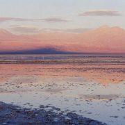 salar d'Atacama au couchant