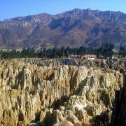 vallée de la lune La Paz Bolivie