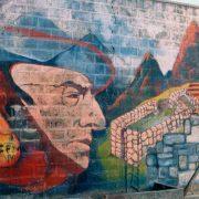 Neruda - fresque murale
